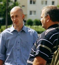 Die Neonazis Matthias Wirth (links) und Mario Schulz (Foto: Opferperspektive)