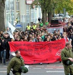 Antirassismusdemo in Hennigsdorf (Foto: Juri Eber)