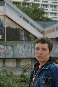 Opferperspektive-Mitarbeiterin Olga Schell in Cottbus (Foto: Veronika Hofinger)