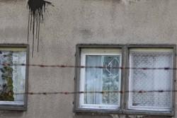 Angriff auf das Flüchtlingsheim in Waßmannsdorf (Foto: Opferperspektive)