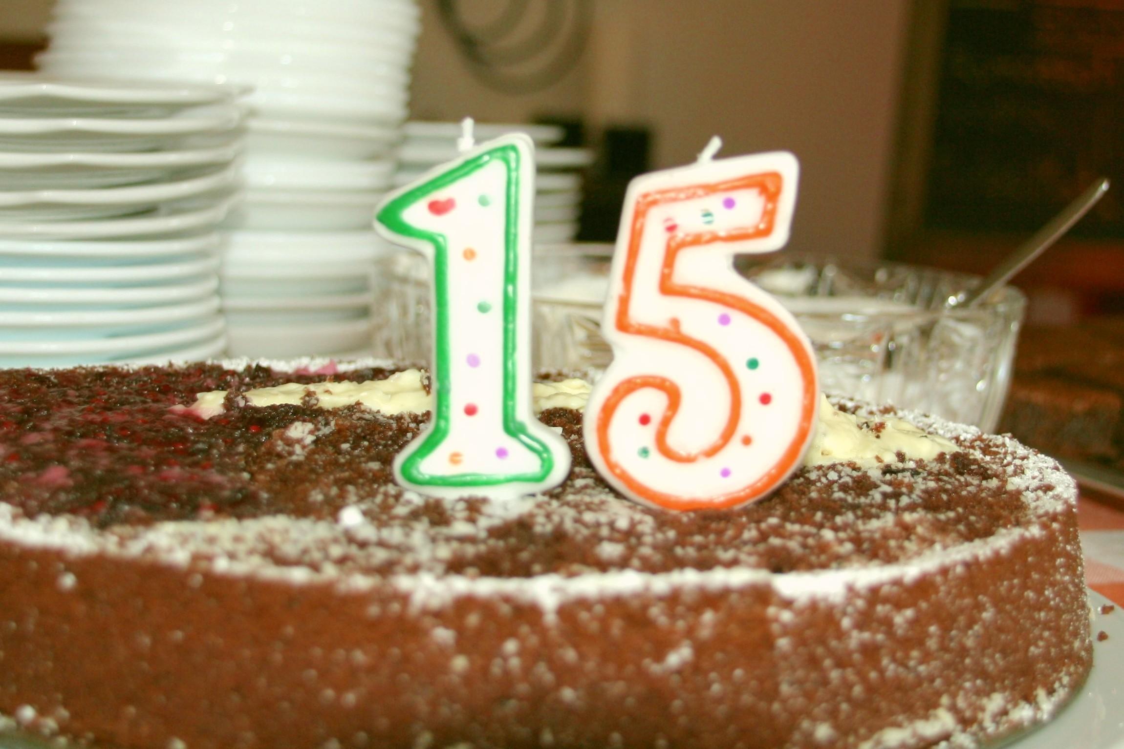 15 Jahre Opferperspektive: Geburtstagskuchen