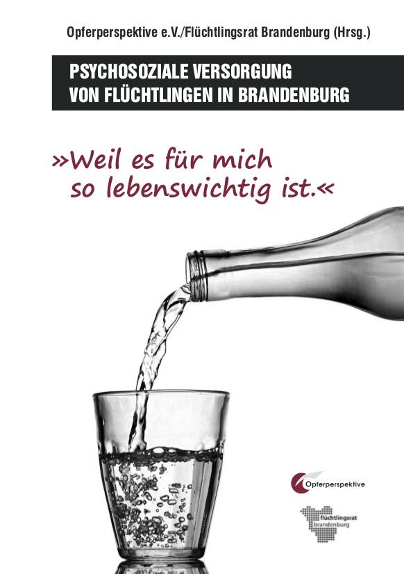Ratgeber zur Psychosoziale Versorgung von Flüchtlingen in Brandenburg