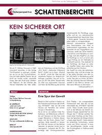 Schattenberichte 15 – Dez 2012