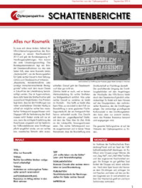 Schattenberichte 18 – Sept 2014